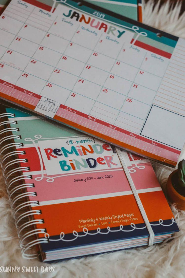 Cheap Planner Ideas- Reminder Binder-2