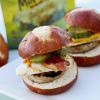 Cheesy Chicken Slider Recipe