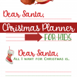 Santa Letter Printables | Christmas Planner For Kids