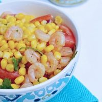 Cilantro Shrimp Bowl