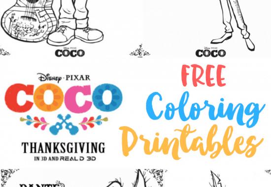 Coco Free Printable Coloring Sheets #PixarCoco