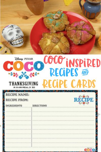 Coco Recipe Printables