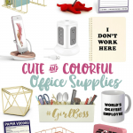 Cute + Colorful Office Supplies