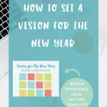 Free Goals Printable: Map Out Your Best Year Yet