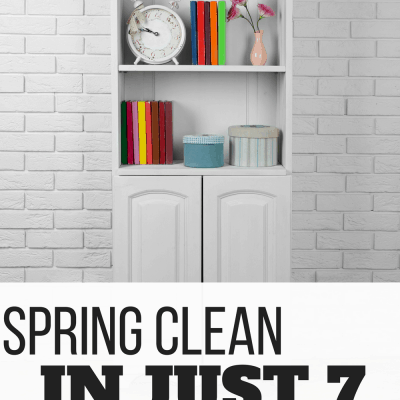 7 Days of Spring Cleaning