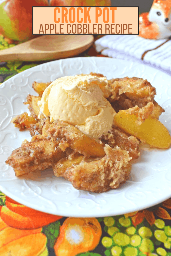 Crock Pot Apple Cobbler Recipe
