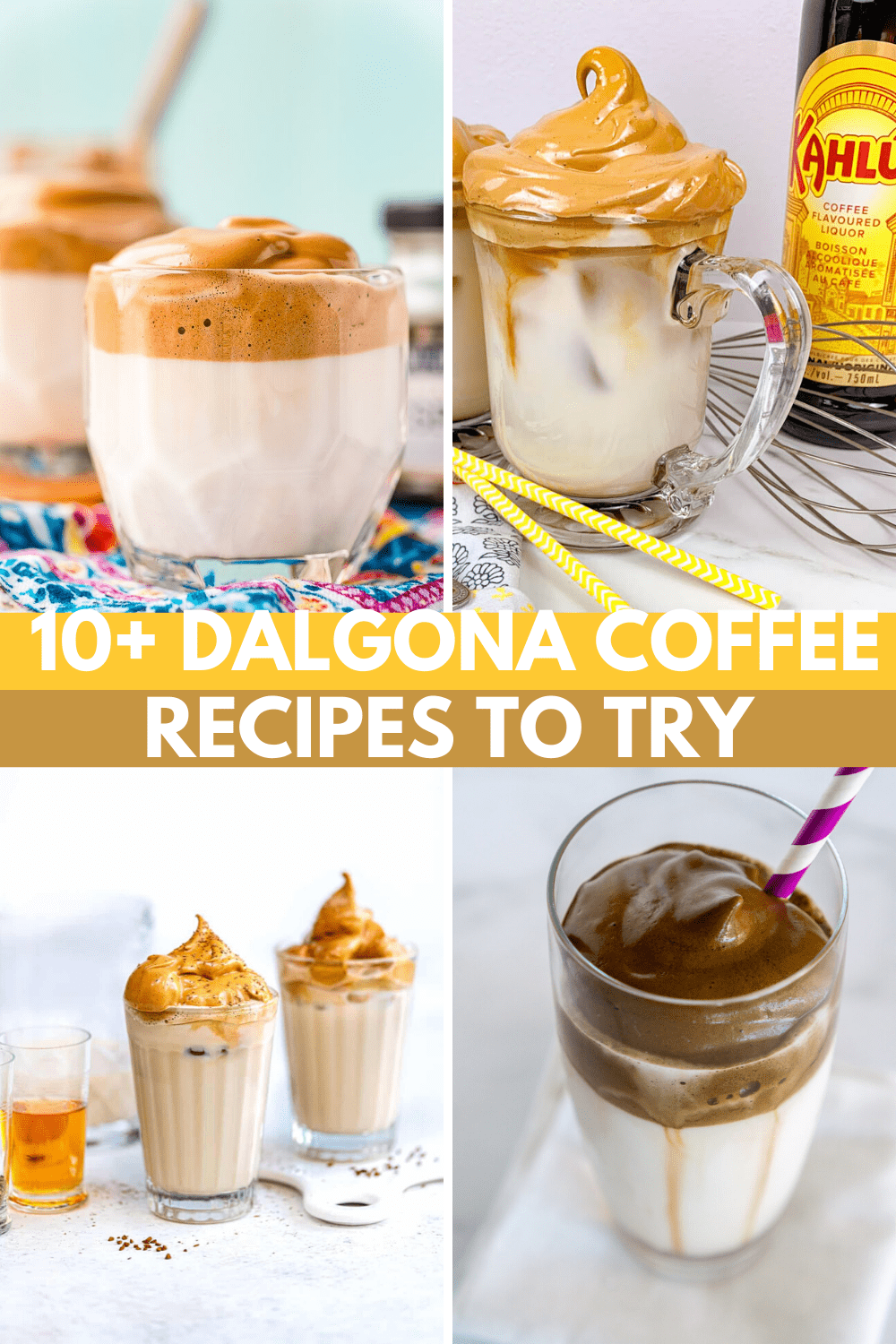10+ Dalgona Coffee Recipes: Try Whipped Coffee Today!