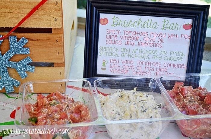 DIY Bruschetta Bar