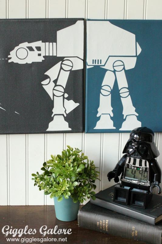 DIY Star Wars Canvas Wall Art