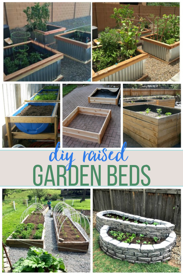 10 DIY Raised Garden Bed Ideas