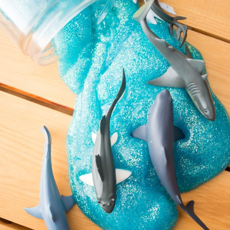 DIY Shark Slime