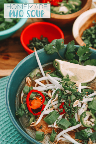 Quick and Easy Spicy Homemade Pho Soup