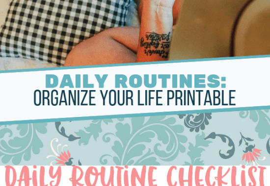 Daily Routine To-Do List