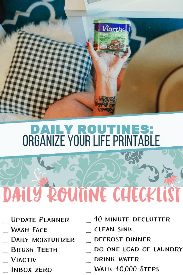 Daily Routine Checklist