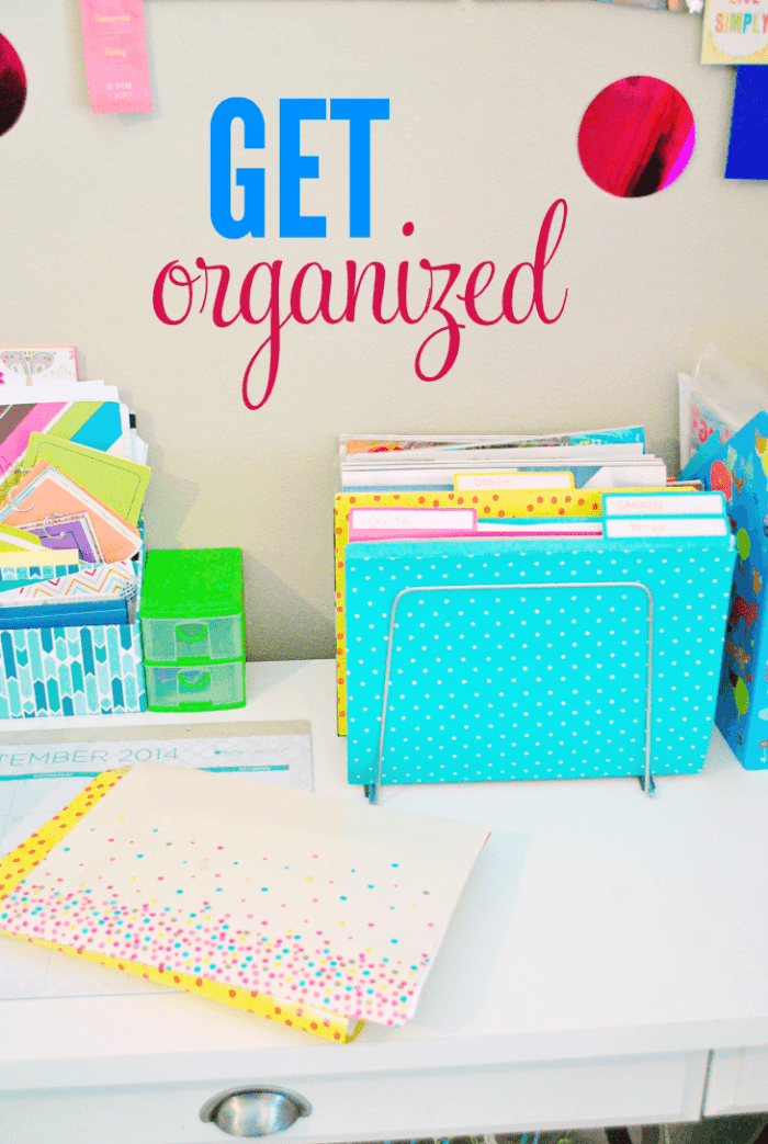 Desk Organizational Tips