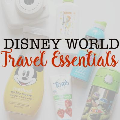 Disney World Travel Essentials: 3 Tips Fora Spontaneous Theme Park Day