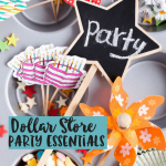 Dollar Store Party Supplies