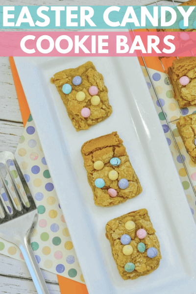 Easter Candy Cookie Bars