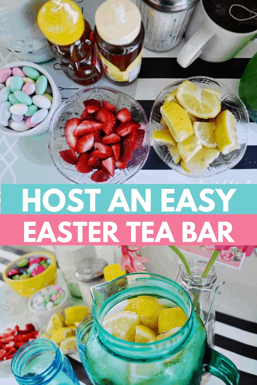 Easter Tea Party Printables | DIY Tea Bar