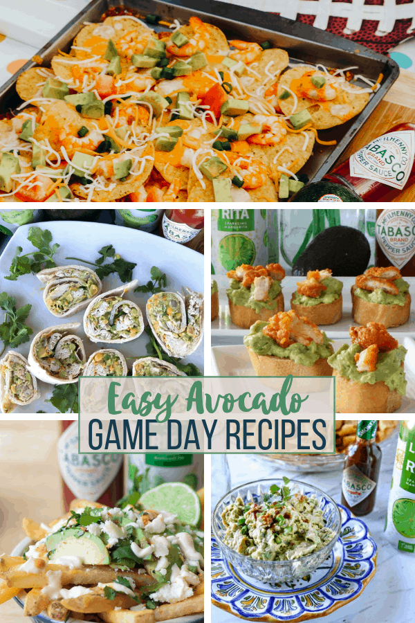 Easy Avocado Game Day Recipes