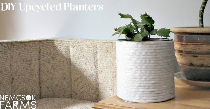 DIY Farmhouse Planter