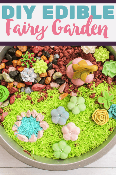Edible Fairy Garden
