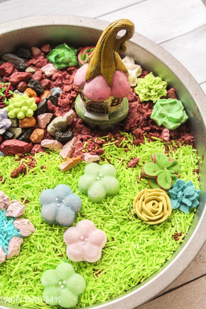 Edible Fairy Garden