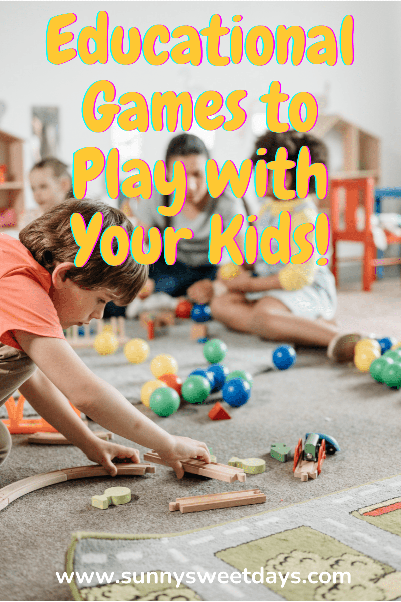 A List Of Fun And Educational Games To Play With Your Kids