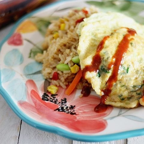 Vegetarian Egg Foo Yung