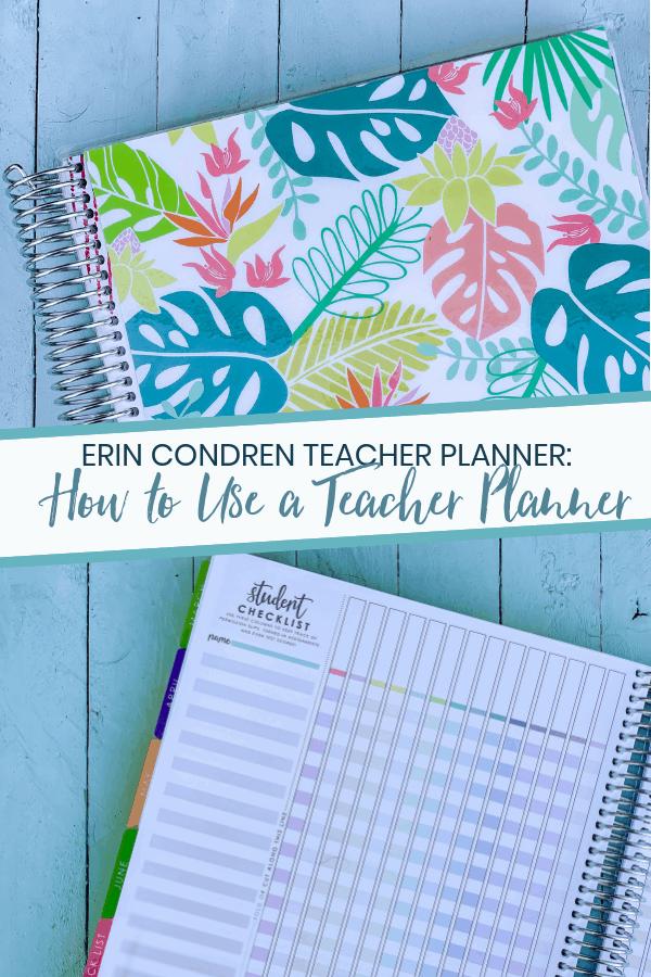 Erin Condren Teacher Planner: How to Use it When You're Not a Teacher