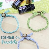 DIY Essential Oil Bracelets