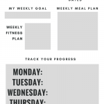 How to Feel Your Best at a Desk Job: Fitness Printable