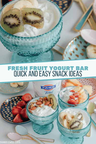 FAGE Yogurt Bar | Fruit and Nut Yogurt Recipe Ideas