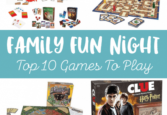 Family Game Night: Top 10 Board Games To Play