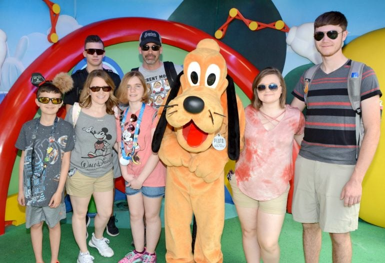 meet Pluto at Hollywood Studios