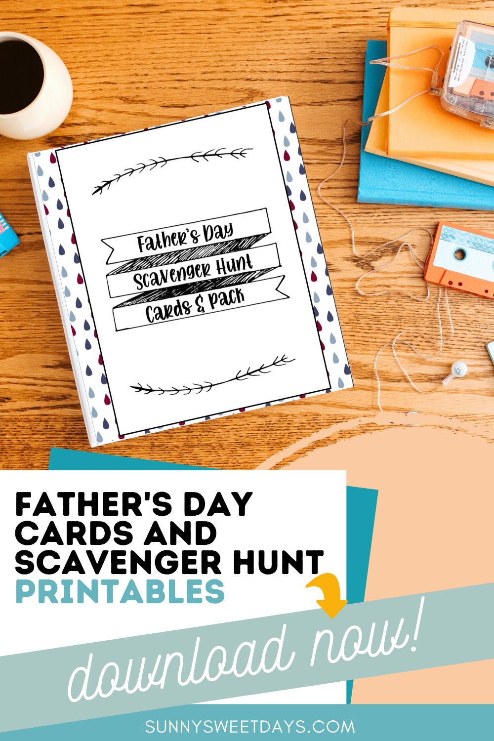 Father's Day Printables | Father's Day Scavenger Hunt