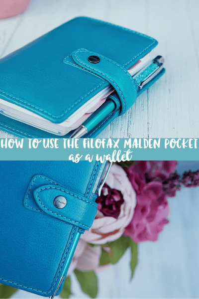 How to Use a Filofax as a Wallet | Filofax Malden Pocket