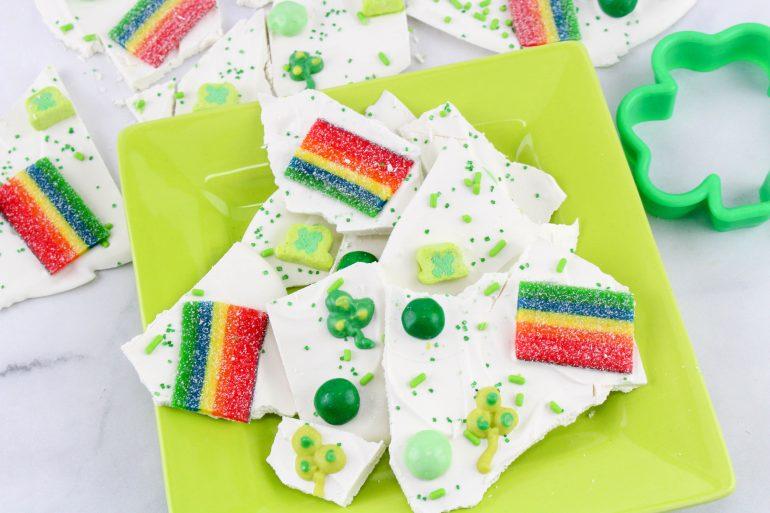 St. Patrick's Day Dessert: St. Patrick's Day Bark