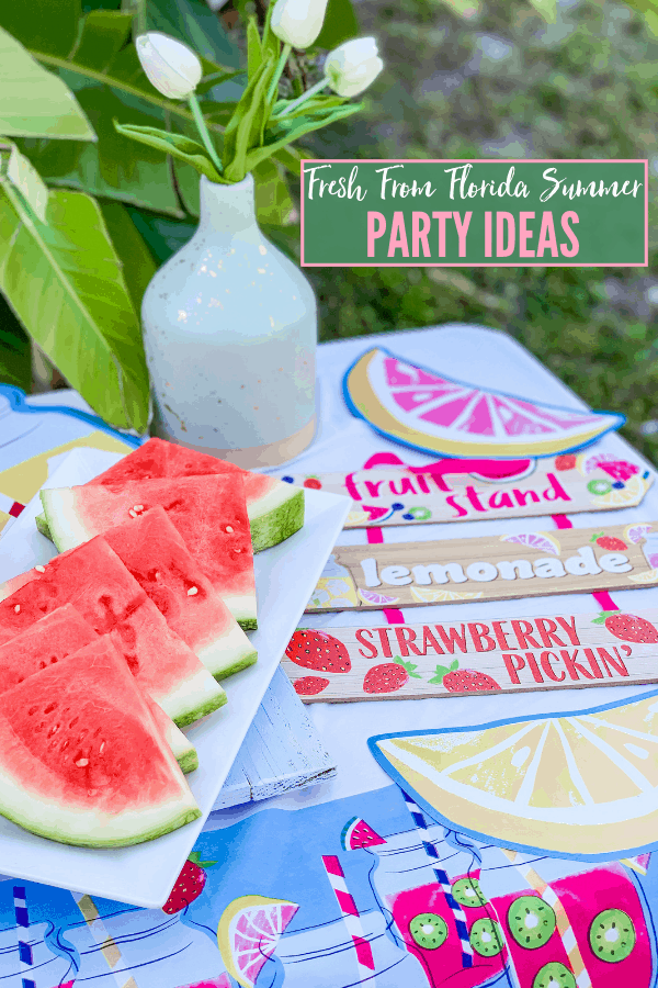 Fresh From Florida Party Ideas