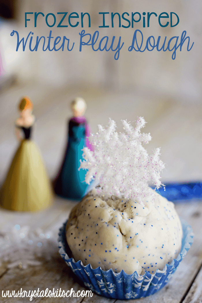 Frozen Winter Play Dough