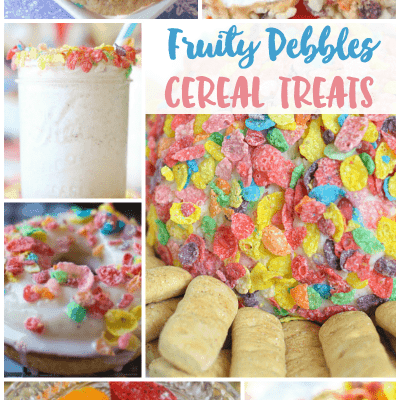 14 Fruity Pebbles Recipes: Enjoy Cereal for Dessert!