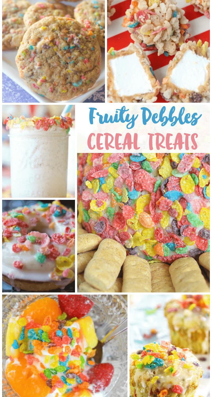 Fruity Pebbles Treats