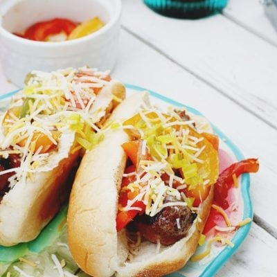 Host a Game Day Party: Create a Bratwurst Bar!