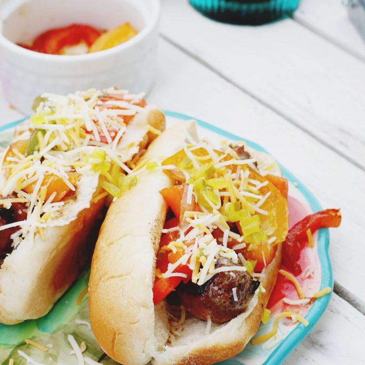 Fully Loaded Bratwurst: Tailgate Recipes