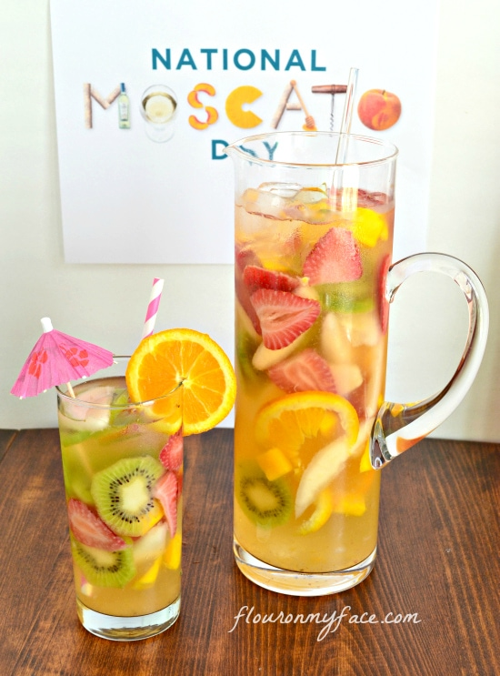 White Moscato Sangria Recipe