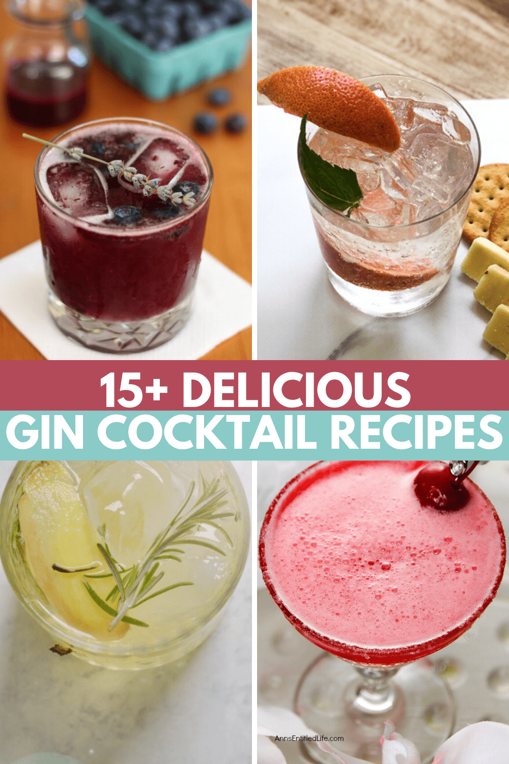 15+ Easy Gin Cocktails 🍸