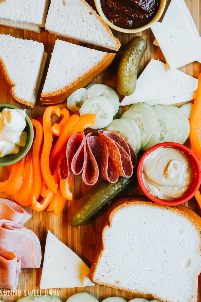 Gluten Free Sandwich Board Ideas