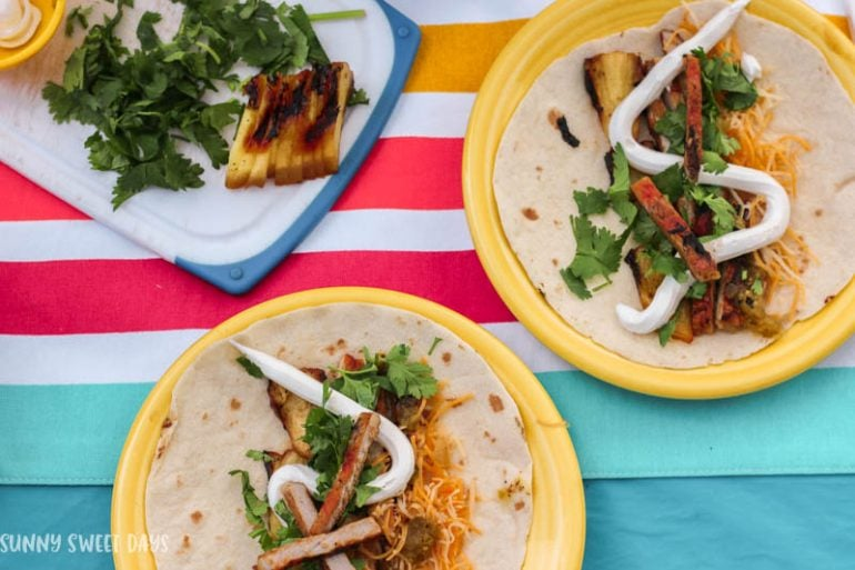Grilled Pork Tacos