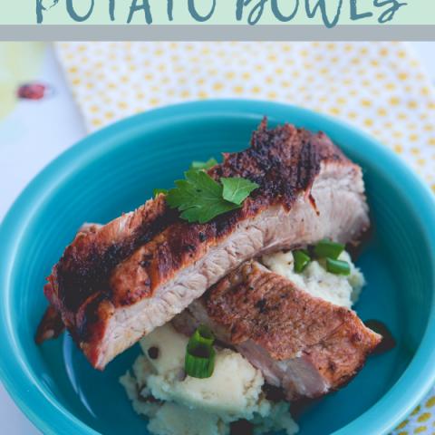 Grilled Rib Potato Bowls