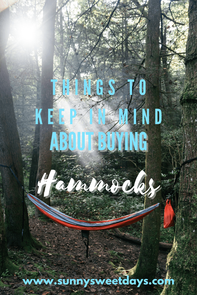 Things to Keep in Mind When Buying a Camping Hammock